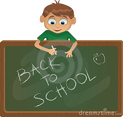 Vector Back to school illustration