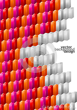 Vector background abstract geometric design