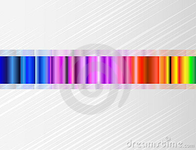 Vector background with color spectrum