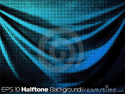 Vector background with distorted dots