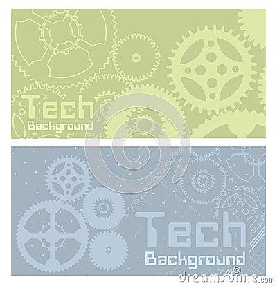 Vector backgrounds technology