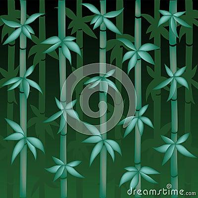 Vector Bamboo Illustration