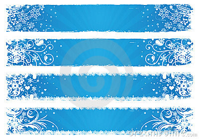Vector Banners For Winter Royalty Free Stock Photos ...