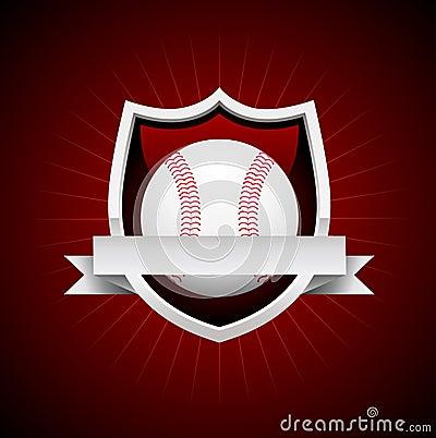 Vector Baseball Emblem