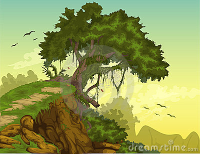vector Beautiful Landscape background