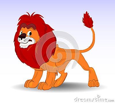 Vector Benevolent Lion