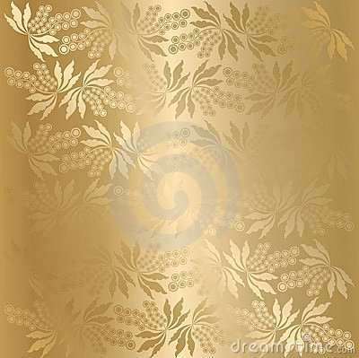 Vector berry texture (golden)