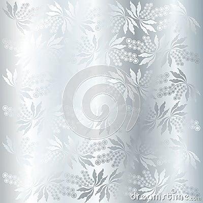 Vector berry texture (silver)