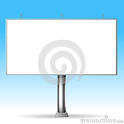 Vector billboard.