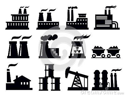 Building factory icon