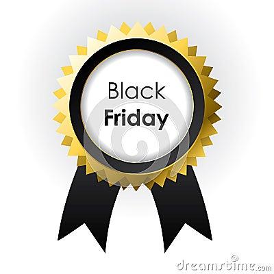 Vector Black Friday label