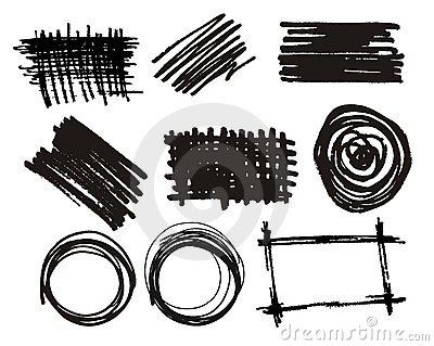 Vector black ink