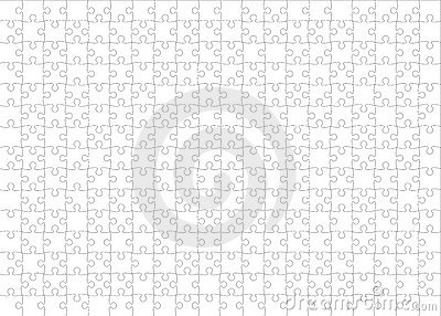 Jigsaw Pattern Vector Free