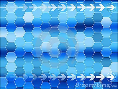 Vector Blue communications background