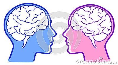 Vector brains icon
