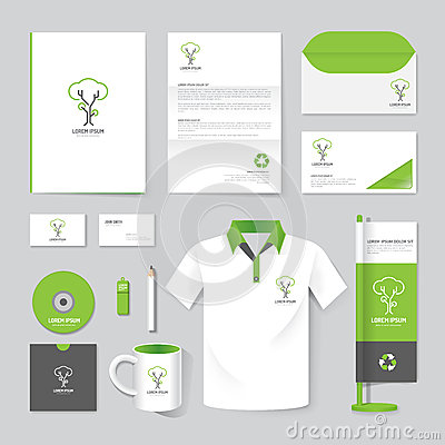 Free Vector Brochure, Flyer, Magazine, Folder, Shirt,cover Booklet Poster Mockup Royalty Free Stock Photos - 52651198