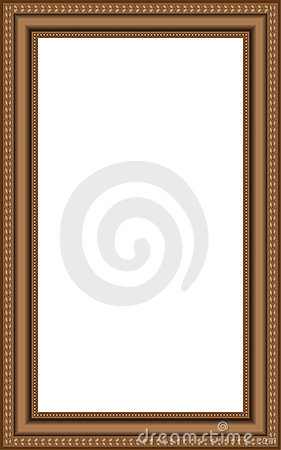vector wooden frames stock vector image 52837726