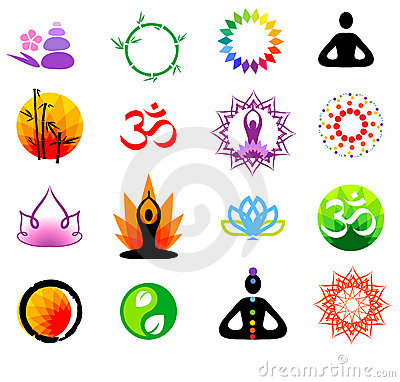 Free Vector Buddhism Icons Stock Photography - 8550232