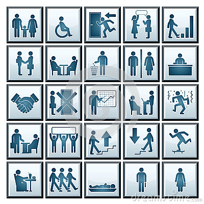 Vector Business People Icons
