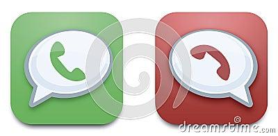 Vector call button