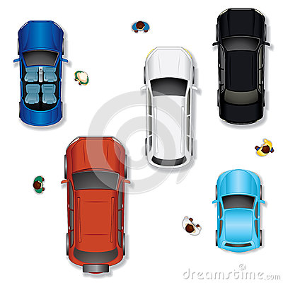 Free Vector Car 2 Royalty Free Stock Photos - 24634188