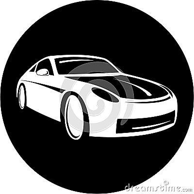 Free Vector Car Icon Royalty Free Stock Photo - 8056945
