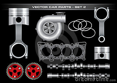 Vector Car Parts-Set 2
