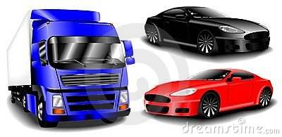 Vector Cars Set Stock Photography - Image: 13527602
