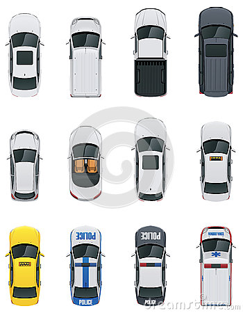 Vector cars set