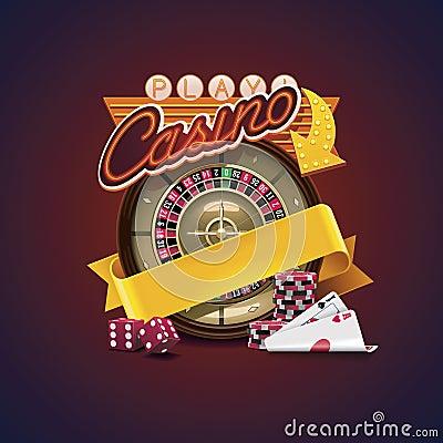 Free Vector Casino Icon Royalty Free Stock Photo - 26340645