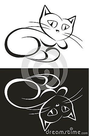 Vector. Cat 2