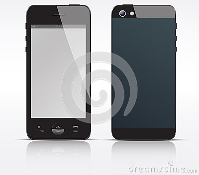 Vector cell, mobile or smart phone, smartphone