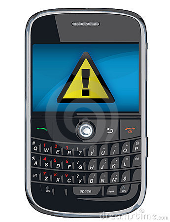 Free Vector Cell Phone / PDA / Blackberry Royalty Free Stock Image - 14613676