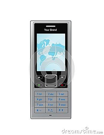 Free Vector Cellphone Royalty Free Stock Photos - 13344028