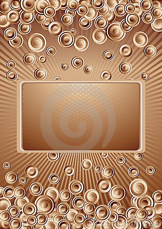 Vector chocolate background