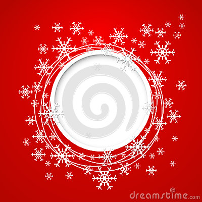 Vector christmas greeting card.