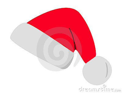 Vector christmas hat