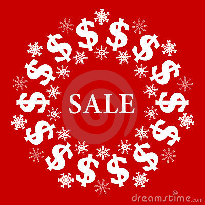 Vector Christmas Sale Background
