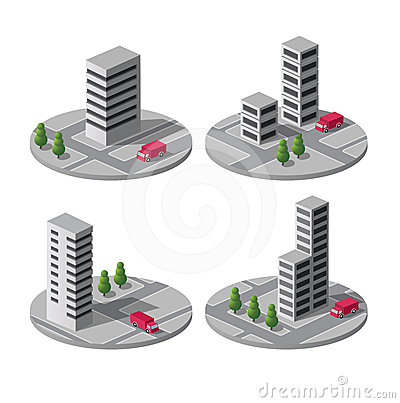 Vector city