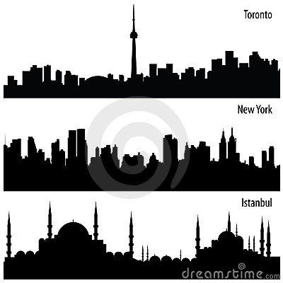Vector Cityscape Inzameling