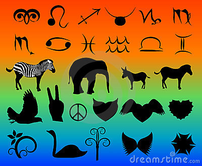 Vector clipart set
