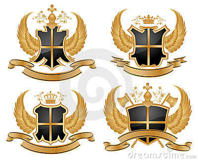 Vector coat of arms.