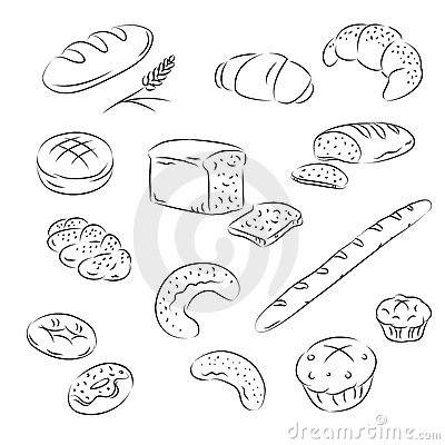Vector Collection of bakery