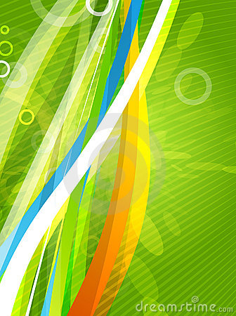 Vector color lines. Abstract  background