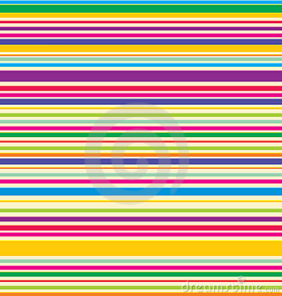 Free Vector Colored Stripes Royalty Free Stock Photography - 7017167