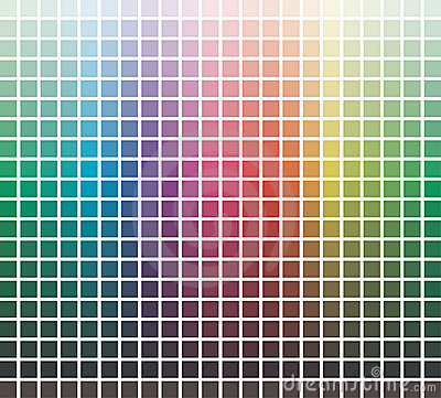 Free Vector Colors Library Royalty Free Stock Images - 10364709