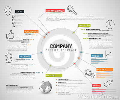 A z of company overview biznespreneur for Information technology company profile template