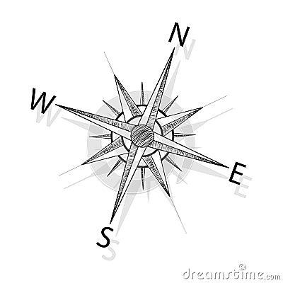 Free Vector Compass Stock Photos - 19267863