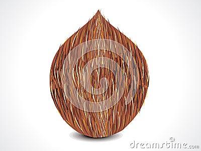 Vector complete coconut