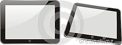Vector concept tablet